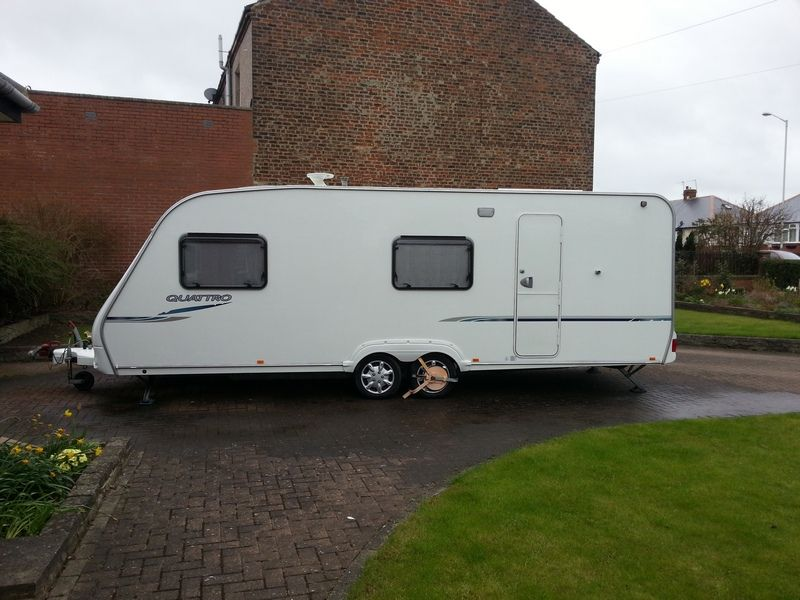 New  TFD 4 Berth 2004 Touring Caravan For Sale In Durham  CSK6383A31