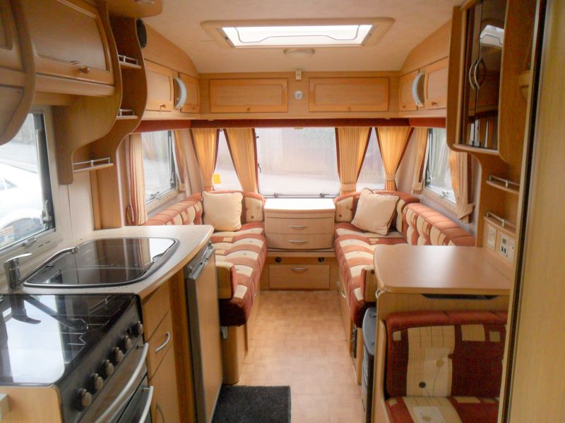 Coachman 2004 Coachman Pastiche 520 4 Berth Bunk Beds