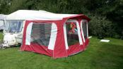 Caravan Awning 775 + x2 Annexes with inner tents Caravan Awning 775 + X2 Annexes With Inner Tents